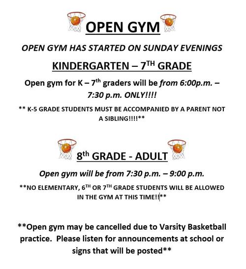 Open Gym